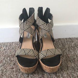 67c828fdce5 Steve Madden Shoes - Steve Madden ELWYN Wedge Sandal